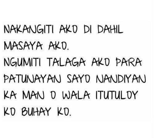 Happy Quotes Tagalog Twitter: 24 Best Hugot Lines Images On Pinterest