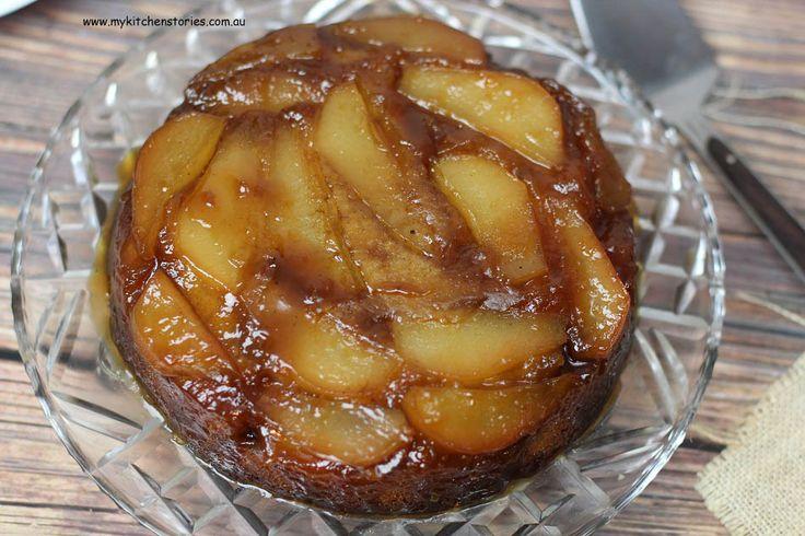 Salted caramel pear