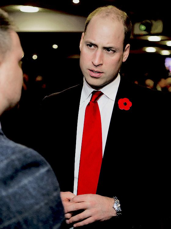 11/11/2017 - While Kate was at the Festival,...the Duke of Cambridge attends the Wales v Australia Autumn International rugby match at the Principality Stadium || 11 November 2017. The Cambridges