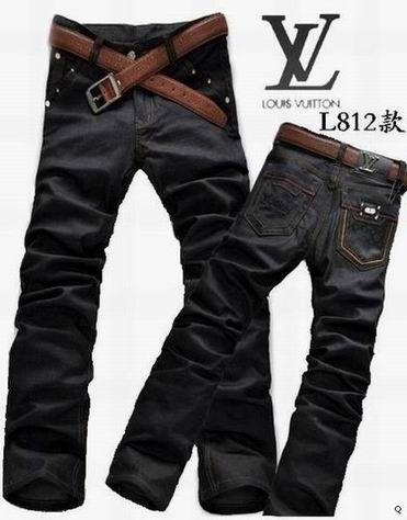 Louis Vuitton Men Long Jean 018