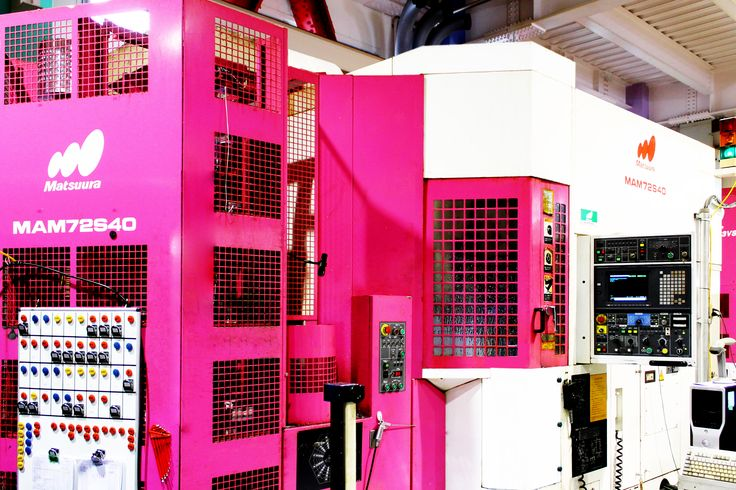 Five-axis machine Matsuura MAM72-S40#pink 五軸加工機/松浦機械/MAM72-S40