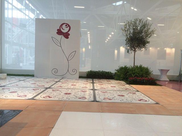 Lo stand Vietri Home Parva Domus Magna Quies @granesedesign al #Cersaie2015 #ceramiche del Vietri Ceramic Group. Progetto Granese Studio - Architecture & Design di #DiegoGranese. https://www.facebook.com/Vietri-Ceramic-Group-1132337140128573/