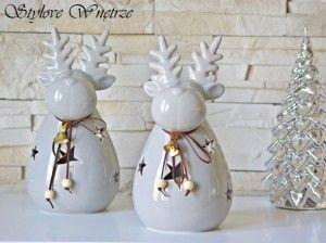Świąteczny Lampion Renifer