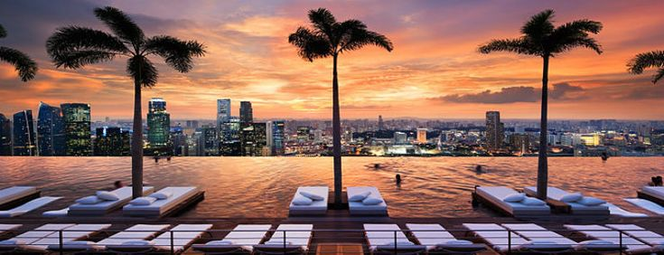 Marina Bay Sands Hotel | Hotel Interior Designs http://hotelinteriordesigns.eu/the-spectacular-beauty-of-marina-bay-sands-hotel/ #design #interior #design #best #hotel #interiors #singapore