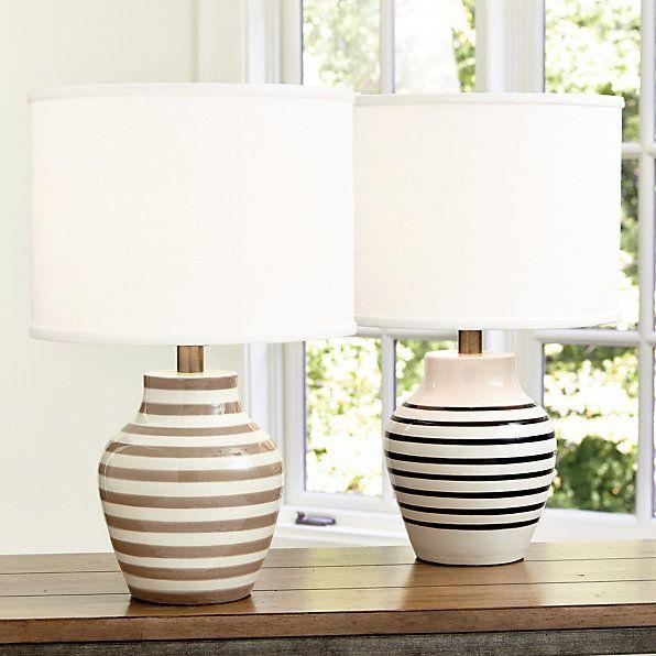Stripe Accent Lamp   Ballard Designs
