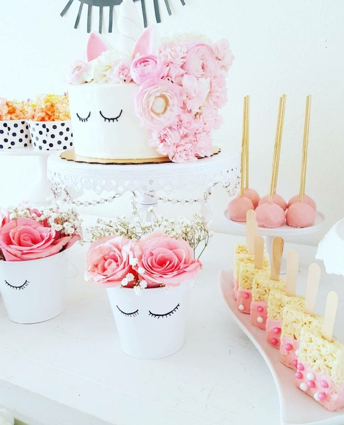 Sweet Unicorn Birthday Party on Kara's Party Ideas | KarasPartyIdeas.com (9)