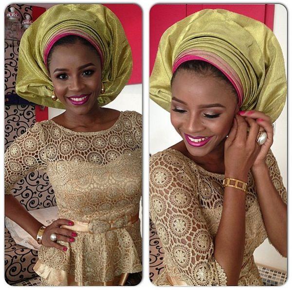 Bella Naija: WEDDING DRESSES - MADE IN NIGERIA