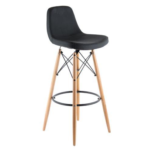 Masif torna ayaklı retro bar sandalyesi Deri döşemelerde beyaz-kırmızı-siyah renk seçenekleri mevcutur. metal ve ahşap bar sandalyeleri için tıklayınız...