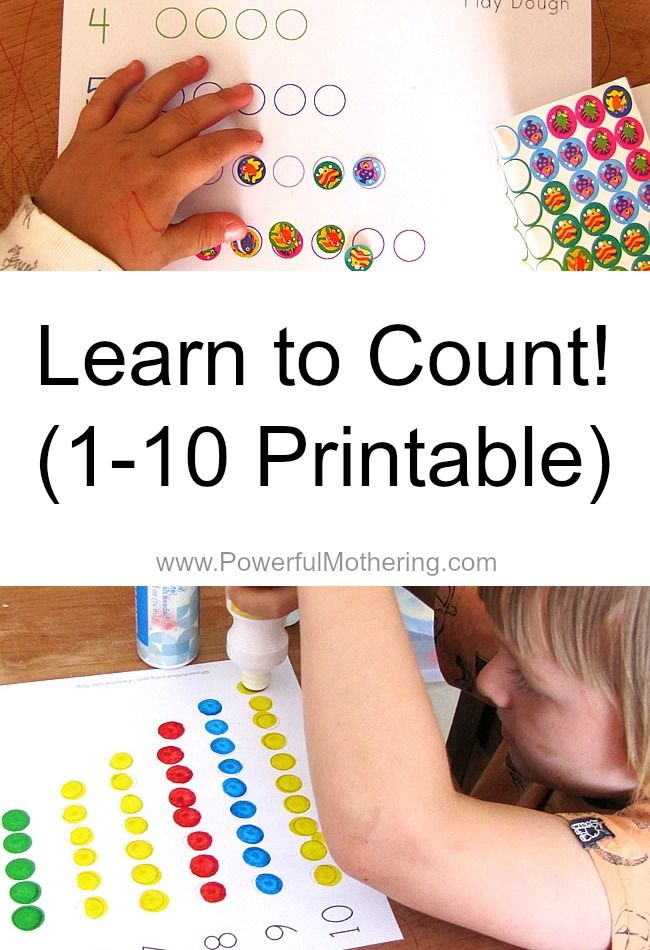 Use stickers, dot markers, pebbles, color in with crayons, get those pom poms out or encourage some play dough rolling! So many fine motor skill possibilities! from PowerfulMothering.com