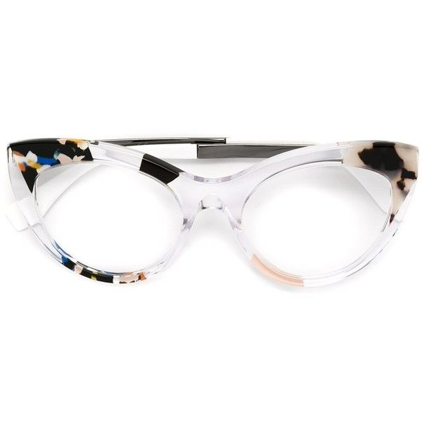 fendi jungle glasses cad liked on polyvore featuring accessories eyewear eyeglasses colorful eyeglasses camouflage glasses fendi
