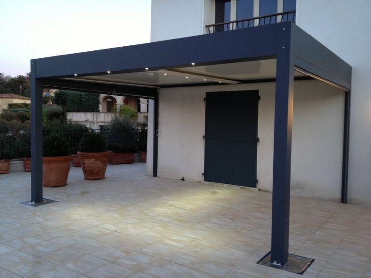 pergola bioclimatique lames orientables fabricant de pergolas en aluminium outdoors i 2018. Black Bedroom Furniture Sets. Home Design Ideas