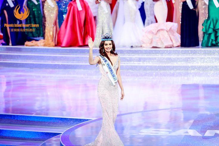 Sanya, China | Congratulations Manushi Chhillar for winning the Miss World crown.