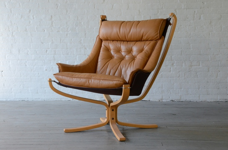 New York: Modern Danish leather lounge chair $1575 - http://furnishlyst.com/listings/937007