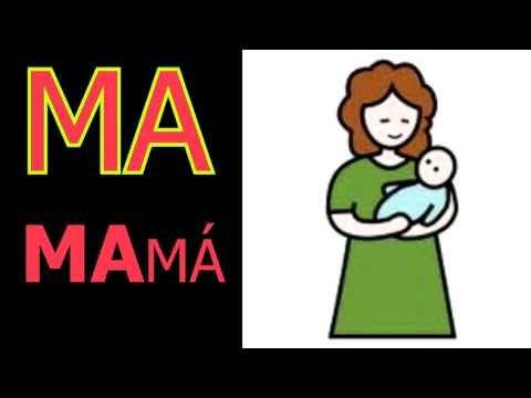 ▶ las Silabas MA,ME,MI,MO,MU (syllables spanish ) - YouTube