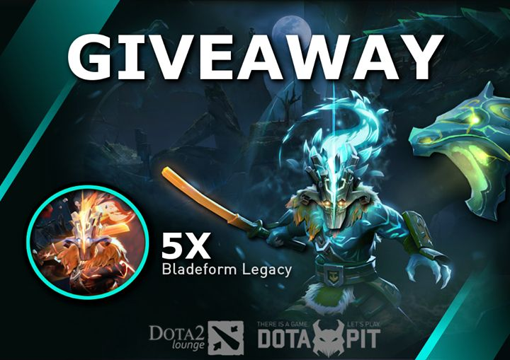 We are happy to inform you about a brand new Giveaway Dota Pit & Dota2Lounge are organizing!  They are giving away 5 x Juggernaut Arcanas!  In order to participate, please do the following: 1) Like & Share this post 2) Like Dota Pit & Dota2Lounge 3) Comment which of the two arcana styles you prefer  Good luck to all of you! Winners will be randomly selected and announced on 31st of March :) #Dota2 #Giveaway #Jugg #Hype #tablet #smartphone #android #windows #3dprinting #gaming