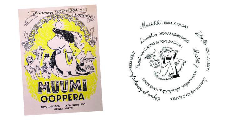 Moomin.com - Moomins at the theatre: Finnish National Opera 1974 – Moomin opera