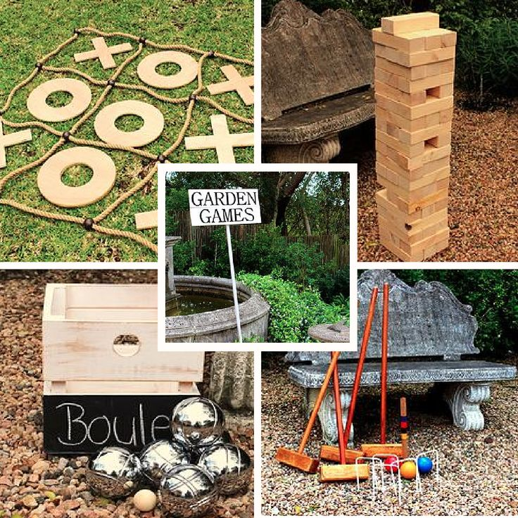 Keep your guests entertained out on the lawn between your wedding ceremony and reception with our fabulous selection of garden games.