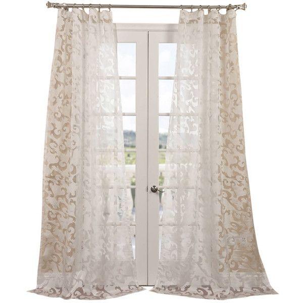 Best 25 Sheer Curtain Panels Ideas On Pinterest Sheer Curtains White Sheer Curtains And