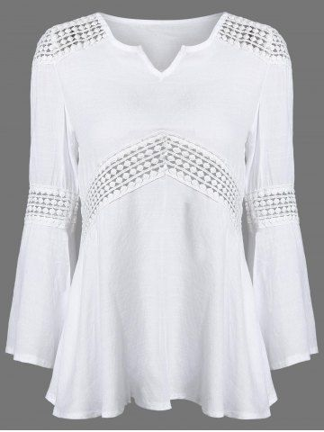 GET $50 NOW | Join RoseGal: Get YOUR $50 NOW!http://www.rosegal.com/blouses/lace-splicing-v-neck-patchwork-751461.html?seid=6807359rg751461