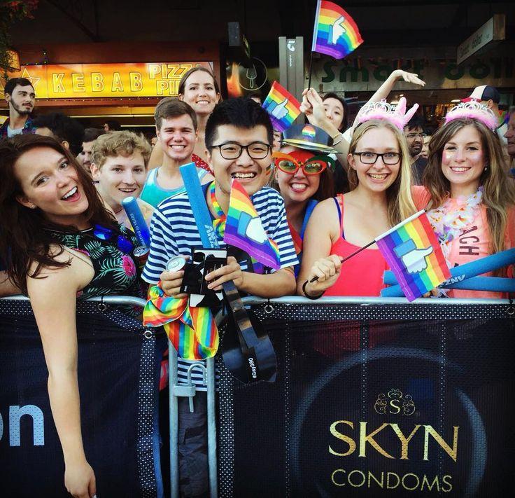 Mardi Gras 2016!  #aboutlastnight  #sydney #studyabroad #lgbqt #gayprideparade by eriinnalive
