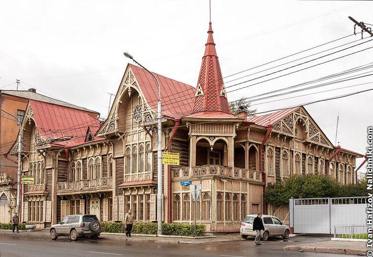 Самый красивый деревянный дом Красноярска | Nalichniki.com