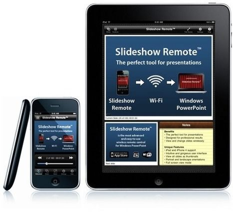 The Best Remote For Your PowerPoint Presentations: Slideshow Remote | Presentation Tools | Scoop.it