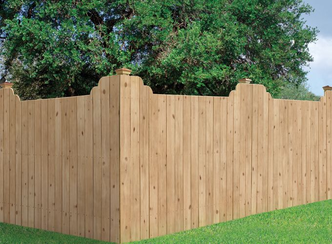 23 Best Images About Wood Fencing On Pinterest