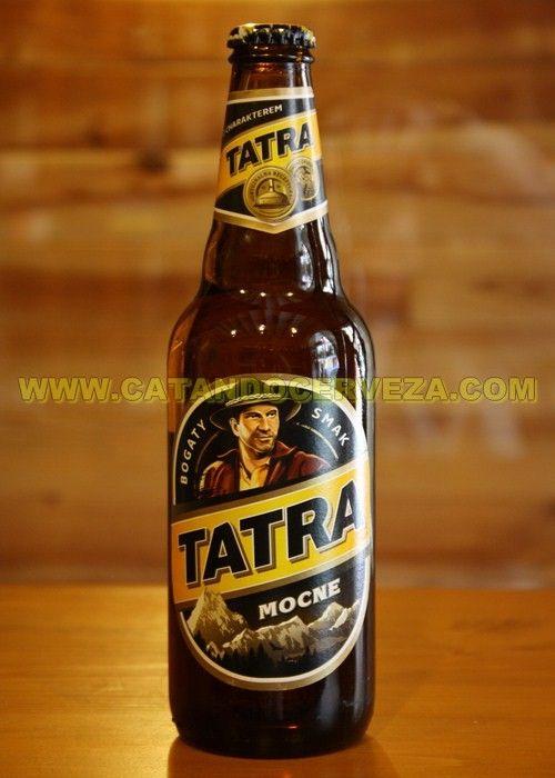 """Cerveza Tatra Mocne: Cerveza Lager fuerte, con carácter, como el señor que aparece en su etiqueta, que no me vais a negar que tiene un parecido con Indiana Jones bastante razonable, de hecho así la están empezando a llamar nuestros clientes la """"cerveza de Indiana Jones"""" #cerveza #diadelpadre"""