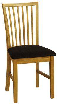 Krzesło SILKEBORG szare dąb | JYSK