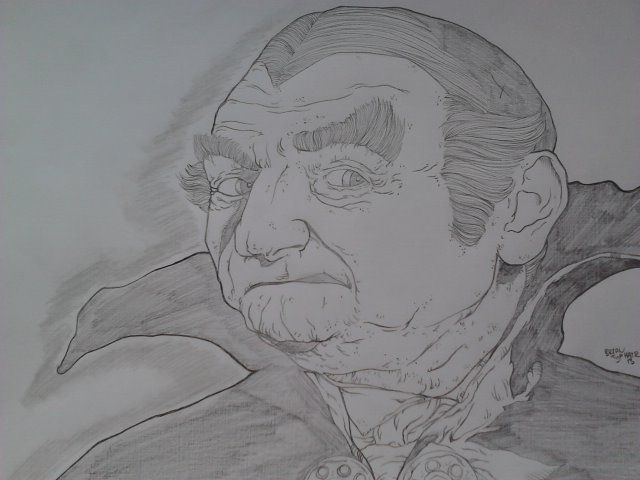 Al Lewis, as Grandpa Munster from The Munsters.  Size: 8.5'x11'  For Sale:$30