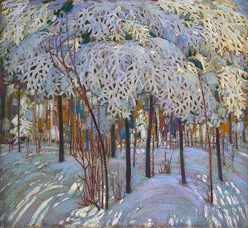 Snow in October, c.1916/17 | Tom Thomson | Fine Art Painting Reproduction at TOPofART.com