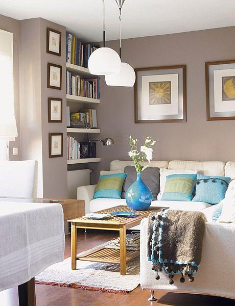 1000 ideas sobre salones azules en pinterest almohadas for Bandejas decoracion salon