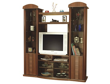 #PinItTransformIt- Ohio- This taller and sleeker wall unit will make my Living room alive.