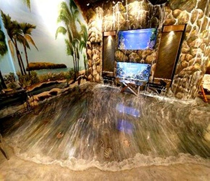3d walls and floors dream home pinterest 3d wall epoxy and galleries. Black Bedroom Furniture Sets. Home Design Ideas