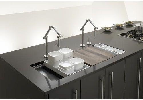 raffinierte und moderne küchen spüle mit unterschrank küchensystem becken