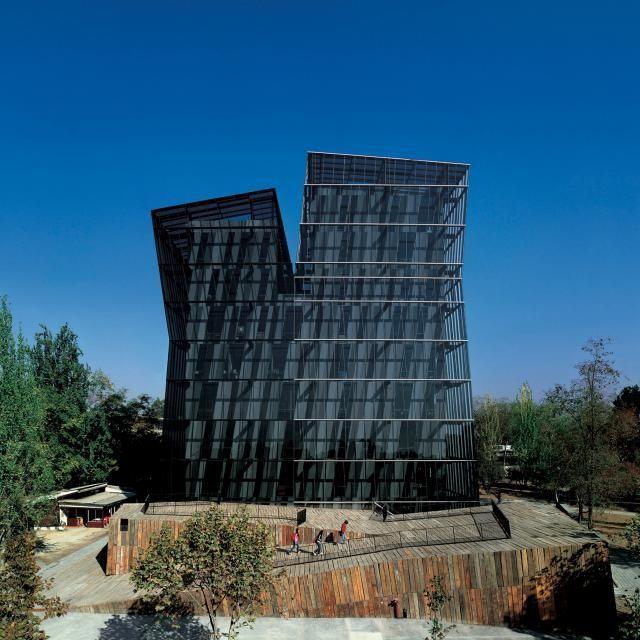 Torres Siamesas, campus de la Universidad Católica de Chile (2005) – Santiago de Chile, Chile
