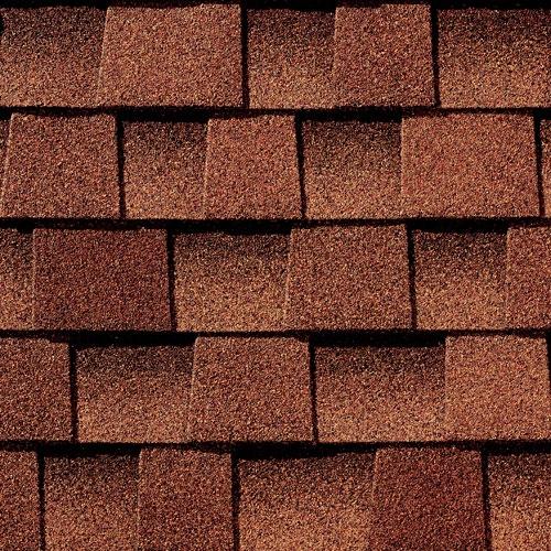 Sienna sunset gaf timberline roof shingles swatch for Gaf sienna shingles