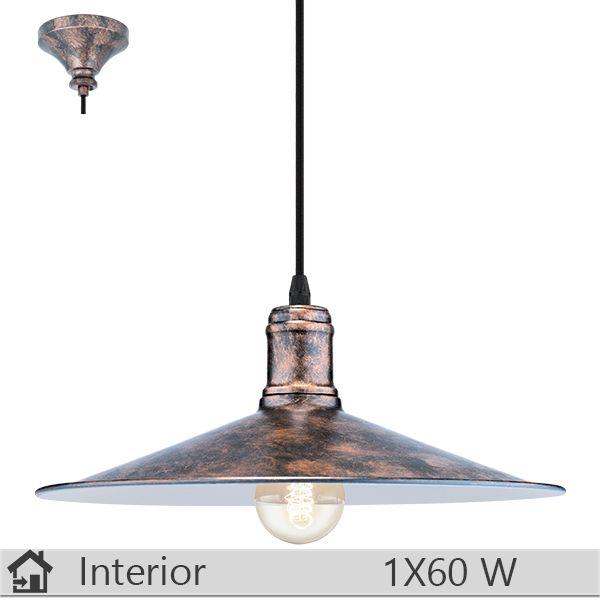 Lustra iluminat decorativ interior Eglo, gama Bridport, model 49454