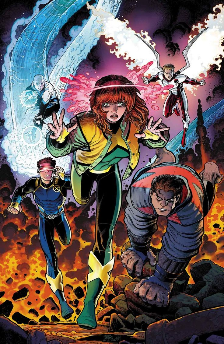 "The path of the X-Men of this universe seemingly followed the same of their Earth-616 counterpart until the day when Beast from an alternate future traveled to their universe in order to inform them that the future was in a bad state, and that only these X-Men could help fix it. The team then accompanied this Beast to the ""future,"" where Cyclops had killed Charles Xavier, Jean was dead (and the school named after her), and Beast was dying from yet another mutation."