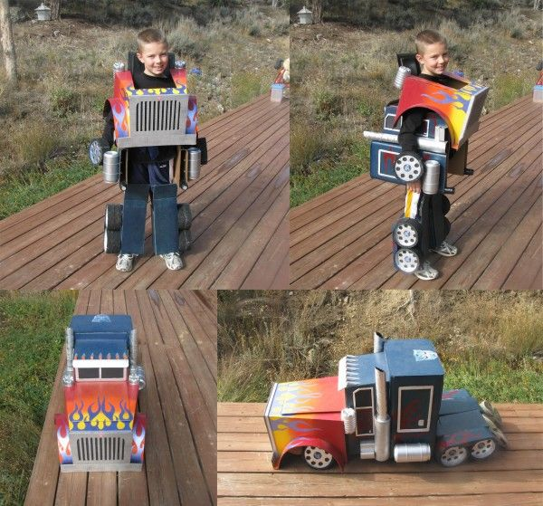 Transforming Optimus Prime   Costume Pop