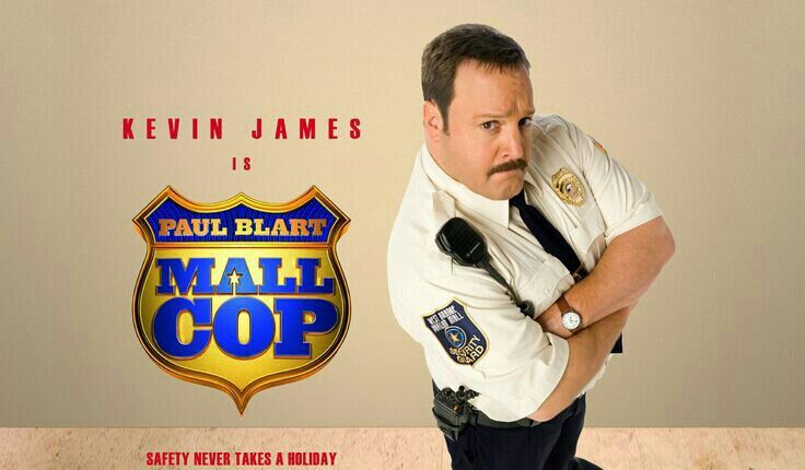 "MOVIE - Paul Blart: Mall Cop ""2009"" (Genre: Comedy) Starring: Kevin James as Paul Blart, Raini Rodriguez as Maya, Jayma Mays as Amy, Keir O'Donnell as Veck Simms, Shirley Knight as Mom, Stephen Rannazzisi as Stuart, Peter Gerety as Chief Brooks, Bobby Cannanvale as Cmdr. James Kent, Adam Ferrara as Srg. Howard, Jamal Mixon as Leon, Adhir Kalyan as Pahud  Erik Avari as Vijay. Plot: When a shopping mall is taken over by a gang of organized crooks, it's up to a mild-mannered security guard to…"
