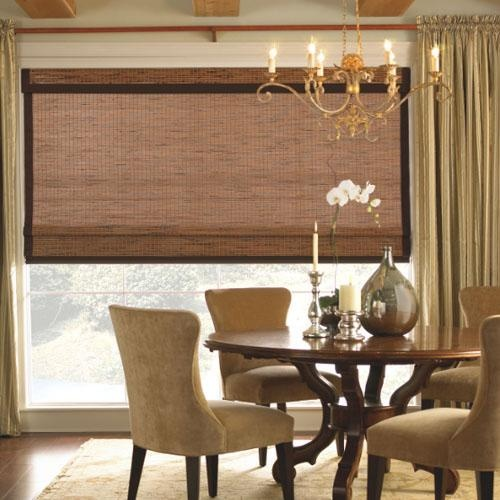 shop at american blinds for great deals on levolor natural shades classic roman style most woven wood shades have free samples available - Bamboo Window Shades