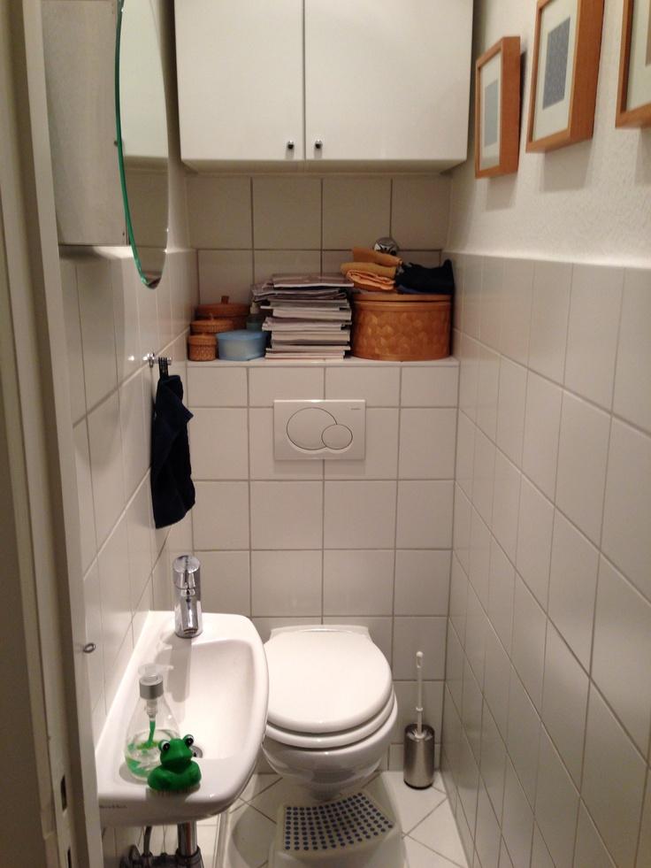 kleines g ste wc wohnungsideen pinterest. Black Bedroom Furniture Sets. Home Design Ideas