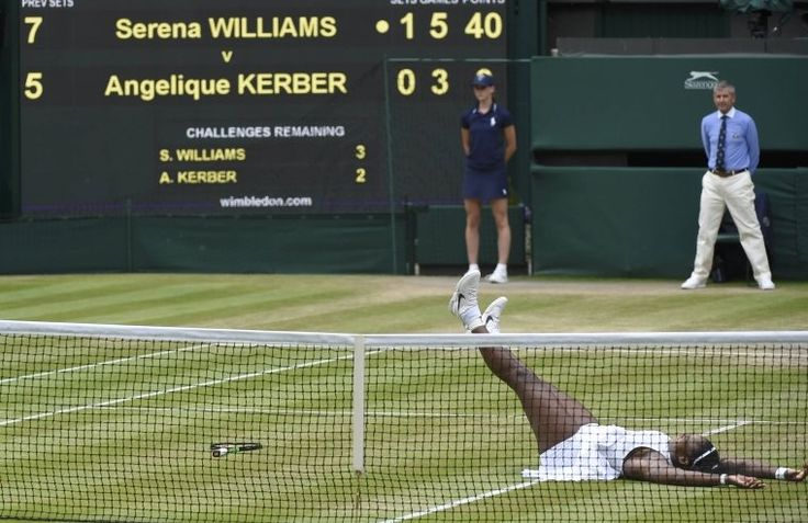 Serena Williams wins Wimbledon singles title