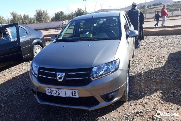 2013, Dacia, Voiture, Sandero, Oujda