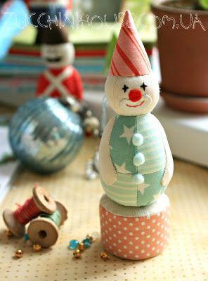 Елочные игрушки / Christmas decorations | Домик маленького Цукиня