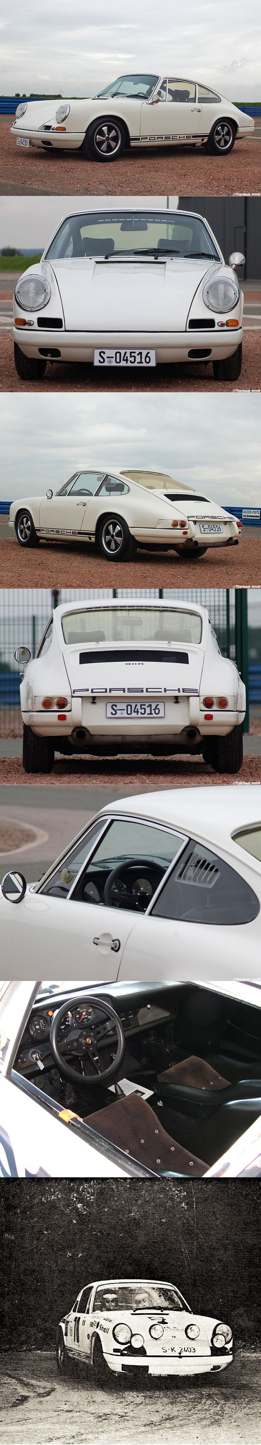 1967 Porsche 911 R / Germany / 20pcs + 4 prototypes / white / 210hp