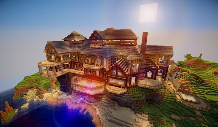 8 Minecraft Mansions for Your Inspiration - BC-GB BaconCape