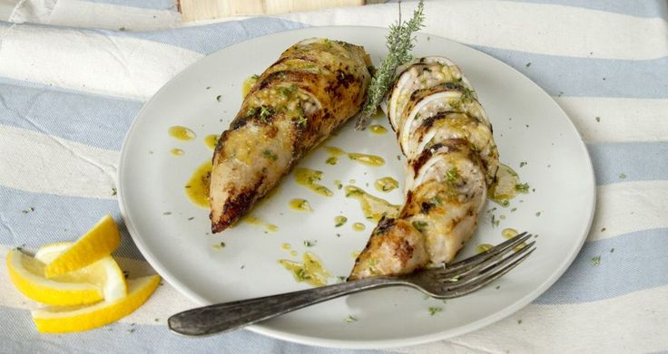 Stuffed squid with rice and vegetables by greek chef Akis. This recipe pulls together delicious Meditteranean flavours!