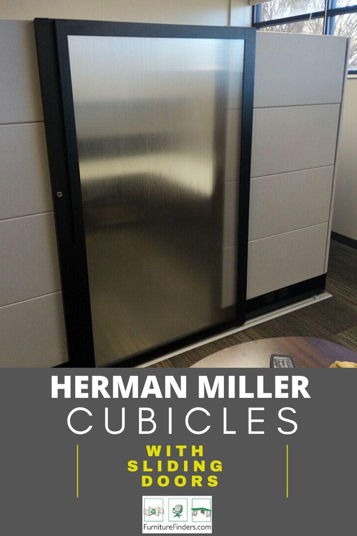 Herman Miller Cubicles With Sliding Doors In 2020